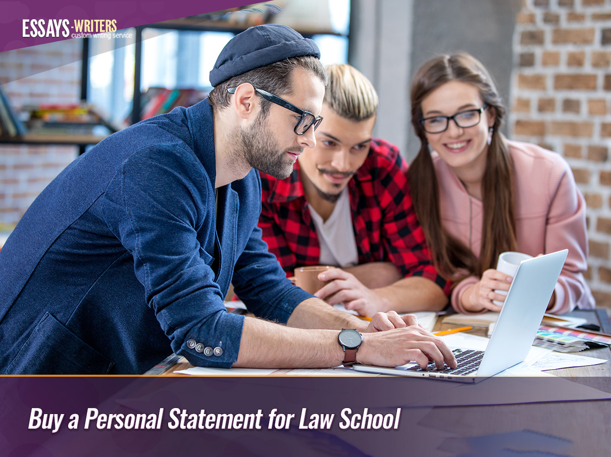 Buy a Personal Statement for Law School
