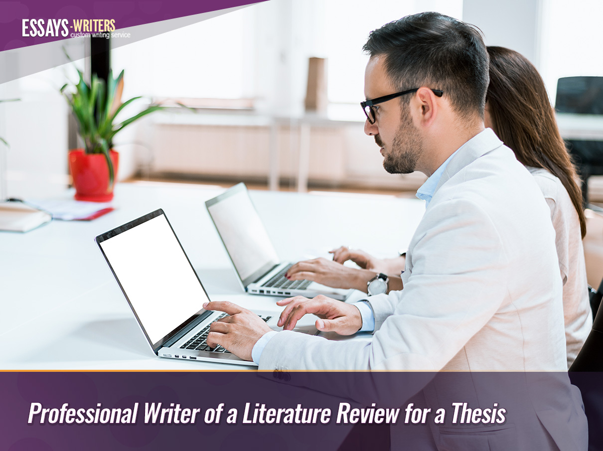 Professional Writer of a Literature Review for a Thesis