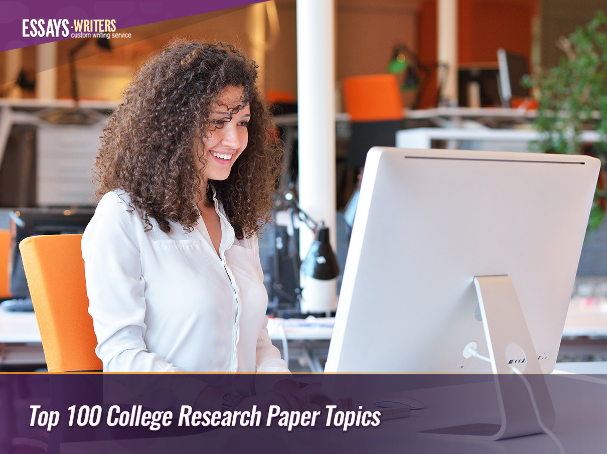 Top 100 College Research Paper Topics